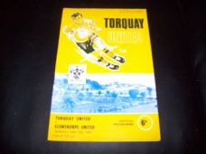 Torquay United v Scunthorpe United, 1967/68
